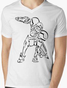 Samus Aran Celtic Mens V-Neck T-Shirt