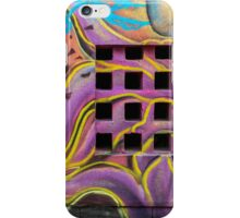 Graffiti drawings iPhone Case/Skin