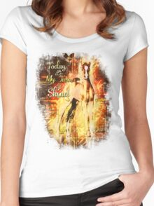 Shine Women's Fitted Scoop T-Shirt