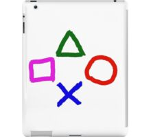 ps hand white edition iPad Case/Skin