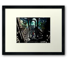 Touch of Happiness Framed Print