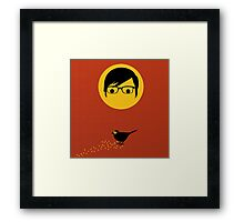 Chito The Bird  Framed Print