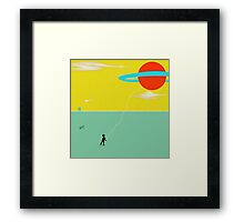 Cosmo Child Play Framed Print