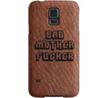 Bad Motherfucker Leather - Pulp Fiction Samsung Galaxy Case/Skin