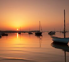 Harbour Sunset by Captivelight