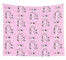 Lady Moo Moo Wall Tapestry