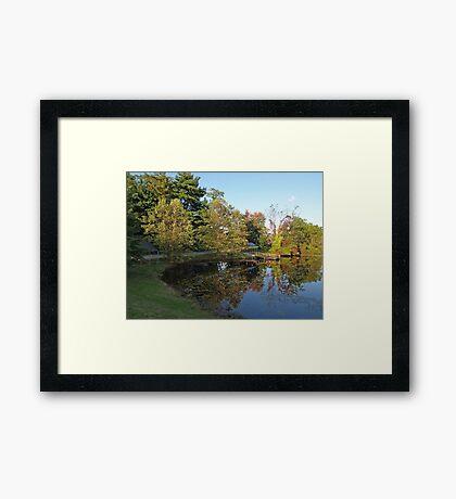 Water Mirror Framed Print
