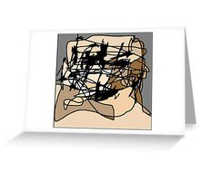 Untitled (Celtic Face) Greeting Card