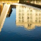 Quayside Reflections by David Lewins