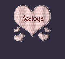 Keatoya Happy Valentines Day Womens Fitted T-Shirt