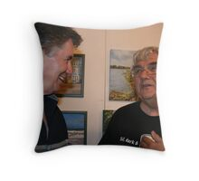 Friendship! - So much water under the bridge! So many things that I remembered and others that he remembered!  Throw Pillow