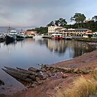 Strahan Harbour by Colin Butterworth