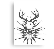 Deer hunt Canvas Print