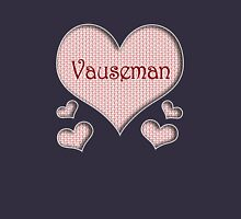 Vauseman Happy Valentines Day Womens Fitted T-Shirt