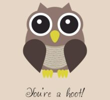 You're a hoot! Cute Owl Design by shifty303