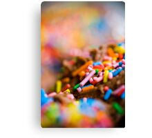 sprinkles! Canvas Print