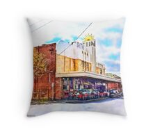 The Sun Theatre - Yarraville Throw Pillow