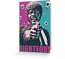 Righteous Greeting Card