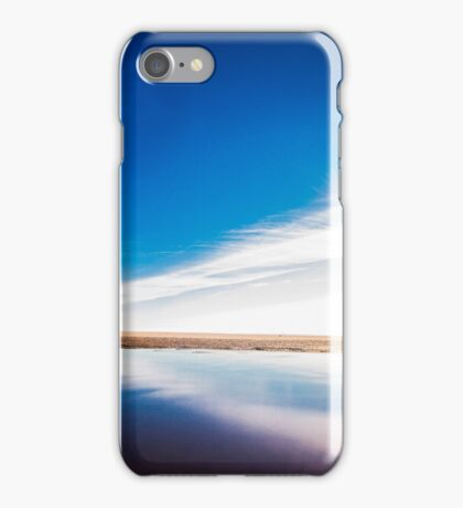 Blue Mirror iPhone Case/Skin