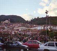 Rush Hour in Cusco by Eddie Johnson