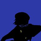 Naoto Shirogane (Persona 4) by RobsteinOne