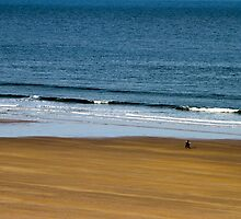 Walks on the beach by Jack Steel