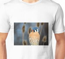 Adult Male American Kestrel Bird Unisex T-Shirt