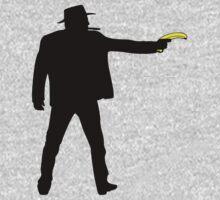 Real Cowboys Shoot Bananas! One Piece - Long Sleeve