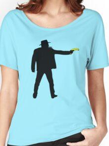Real Cowboys Shoot Bananas! Women's Relaxed Fit T-Shirt