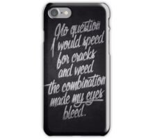 Raekwon iPhone Case/Skin