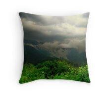 Rising Storm Throw Pillow