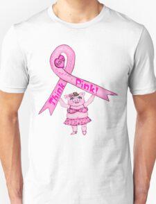 Think Pink Pig T-Shirt T-Shirt