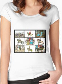 Medieval Romp Women's Fitted Scoop T-Shirt