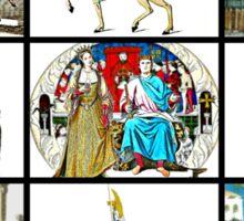 Medieval Romp Sticker