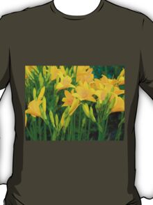 Yellow Lily in the garden T-Shirt