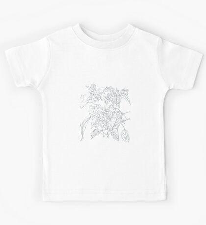 The Plant (white-grey) Kids Tee
