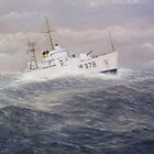 United States Coast Guard Cutter Halfmoon by cgret82