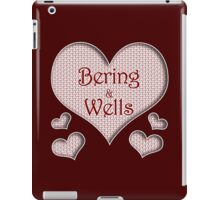 Bering and Wells Happy Valentines Day iPad Case/Skin