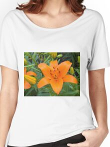 Orange Lily 6 Women's Relaxed Fit T-Shirt