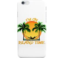 Island Time iPhone Case/Skin