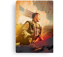 Military War Memorial Canvas Print
