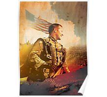 Military War Memorial Poster
