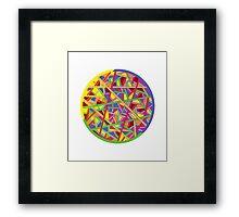 Color Color Framed Print