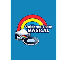 Magically Delicious | Funny Unicorn Shirt Photographic Print