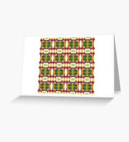 colorful blocks Greeting Card