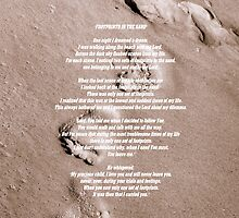 """FootPrints In The Sand"" by Angi Baker"