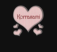 Korrasami Happy Valentines Day Womens Fitted T-Shirt