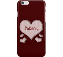 Faberry Happy Valentines Day iPhone Case/Skin