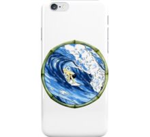 Surfing The Tube iPhone Case/Skin