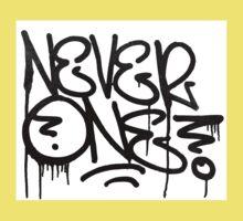 Dripping Graffiti Tag Kids Clothes